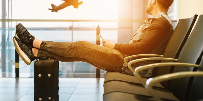 How to relax in a plane in a business trip